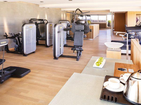 Bellevue Palace gym