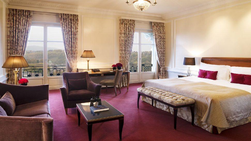 Bellevue Palace deluxe double room