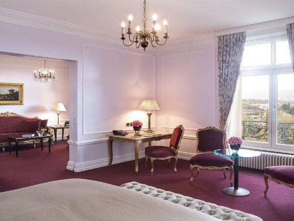 Bellevue Palace deluxe suite