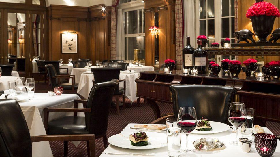 Bellevue Palace restaurant VUE