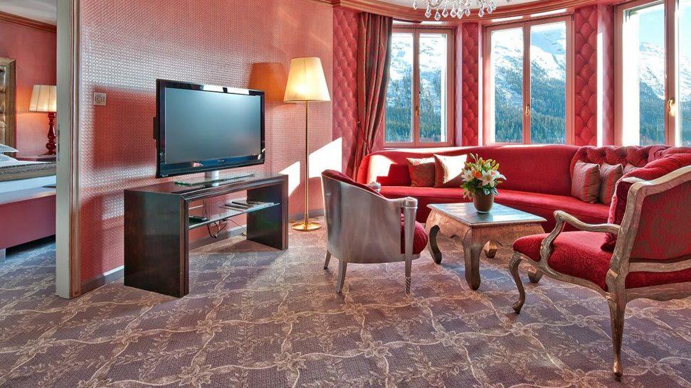 Carlton Hotel St. Moritz Deluxe Suite