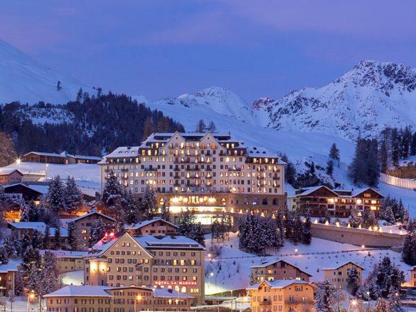Carlton Hotel St. Moritz Exterior View
