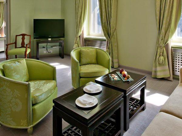 Carlton Hotel St. Moritz Grand Suite