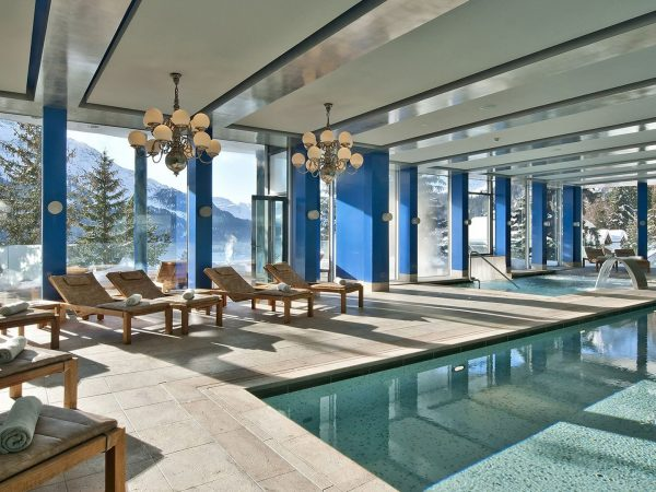 Carlton Hotel St. Moritz Pool