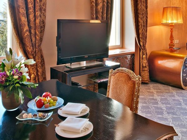 Carlton Hotel St. Moritz czar suite