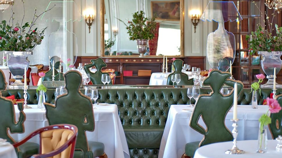 Carlton Hotel St. Moritz restaurant Romanoff