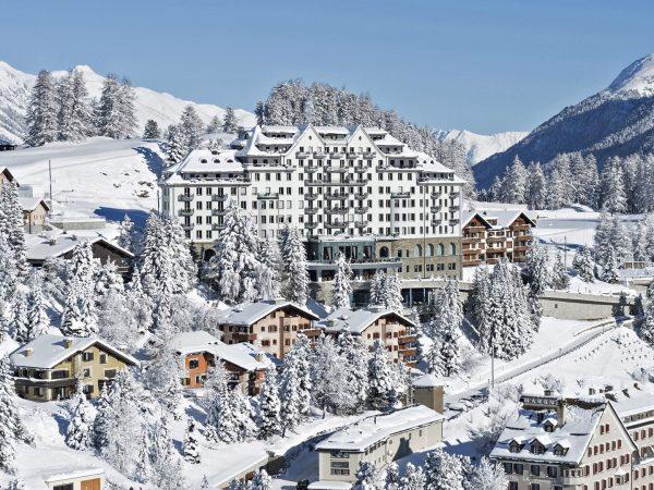 Carlton Hotel St. Moritz sko Snow