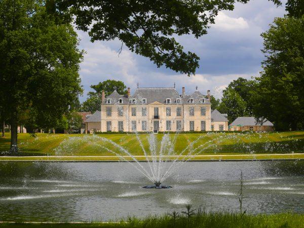 Chateau du Coudreceau Fountain