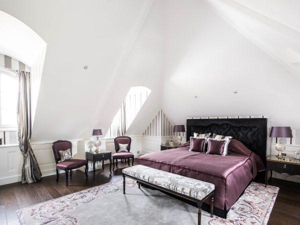 Chateau du Coudreceau Private Golfing Estate Bedroom