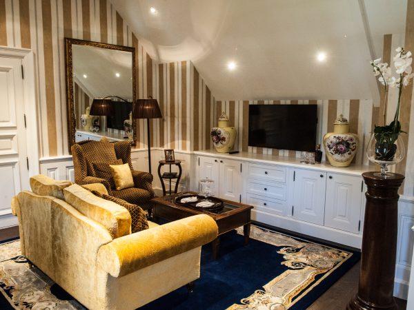 Chateau du Coudreceau Vermeer Suite Lounge-Area