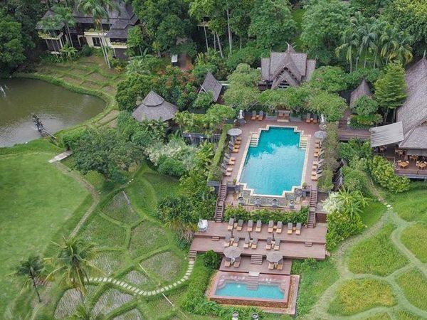 Chiang Mai Top View