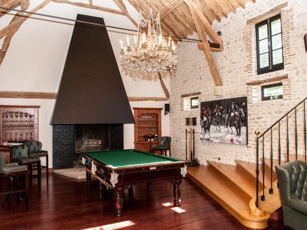 Chateau du Coudreceau The Players Lounge