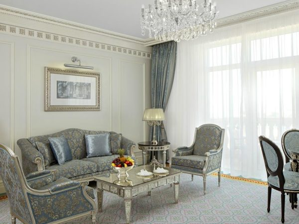 Emerald Palace Kempinski Dubai Junior Suite Living Room Ocean View