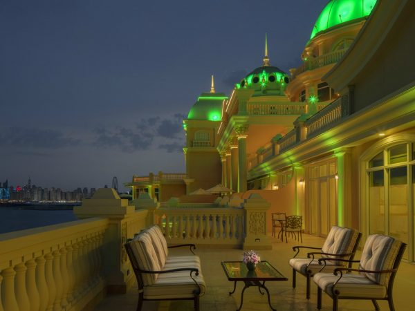 Emerald Palace Kempinski Dubai Night view