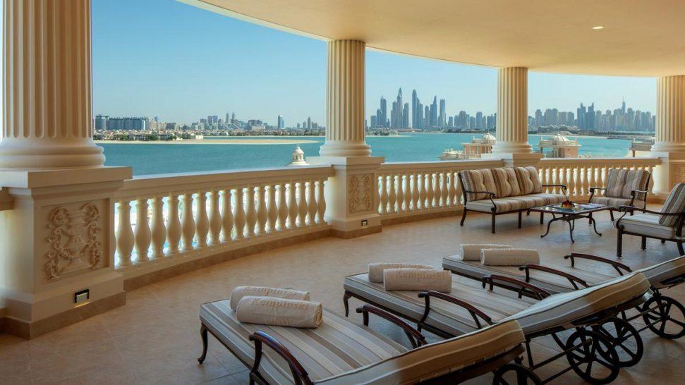 Emerald Palace Kempinski Dubai Presidential Suite Terrace