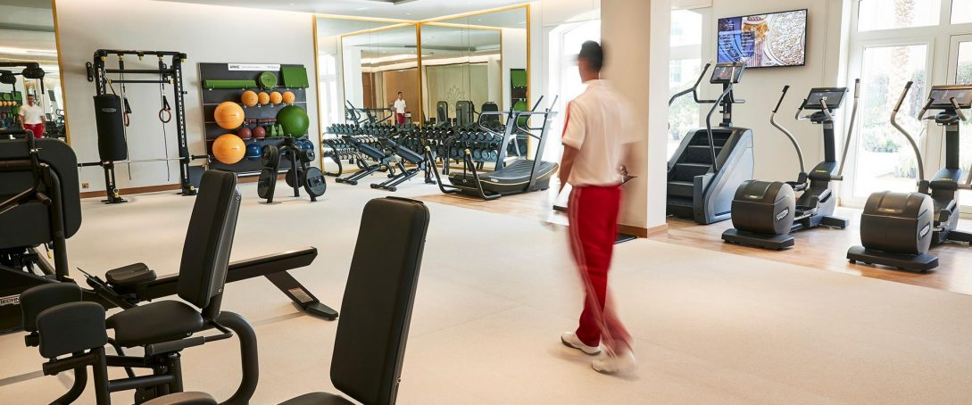 Emerald palace kempinski dubai gym fitness
