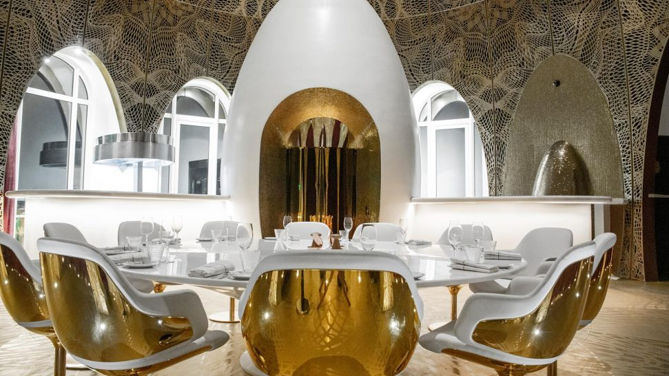 Emerald palace kempinski dubai mix by Alain Ducasse