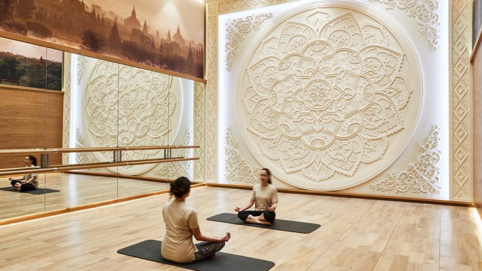Emerald palace kempinski dubai yoga