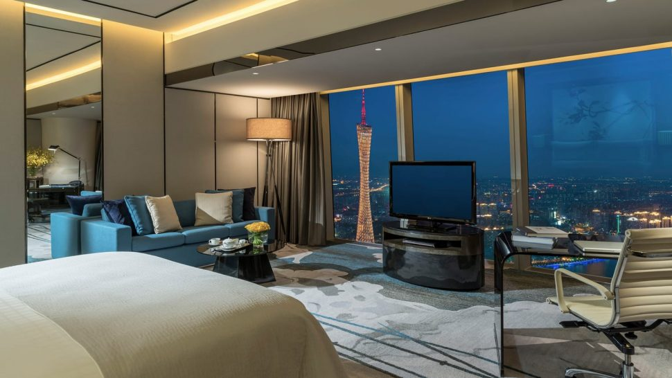 Four Seasons Hotel Guangzhou Premier Room Canton Tower View