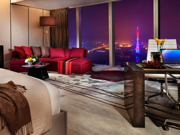 Four Seasons Hotel Guangzhou Superior Room with Canton Tower View