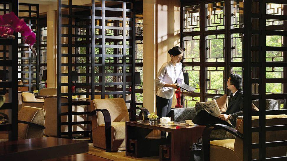 Four Seasons Hotel Hangzhou at West Lake Lobby lounge