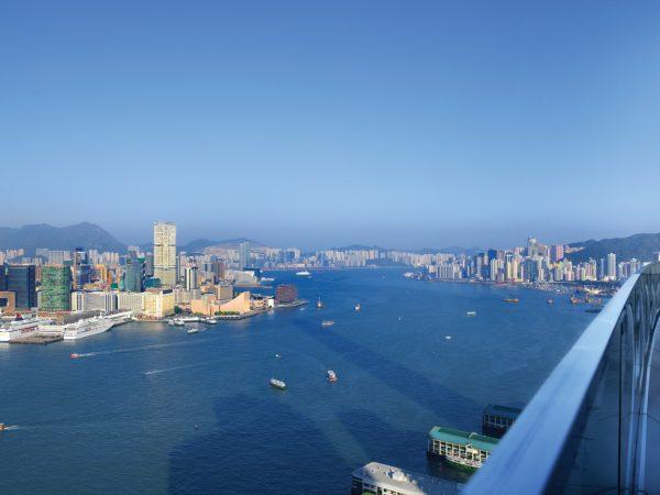 Four Seasons Hotel Hong Kong Executive Balcony