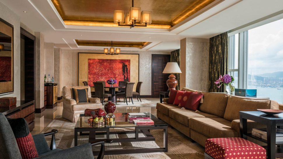 Four Seasons Hotel Hong Kong Imperial Suites