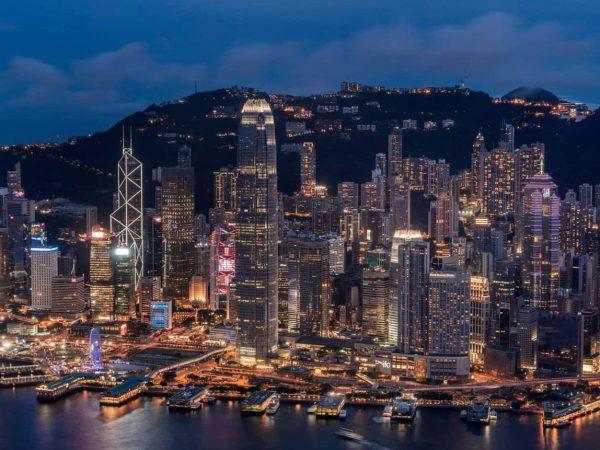 Four Seasons Hotel Hong Kong Night View