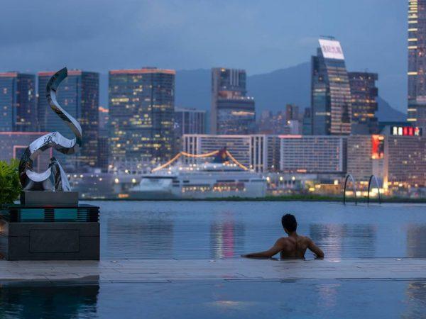 Four Seasons Hotel Hong Kong Pool Shot