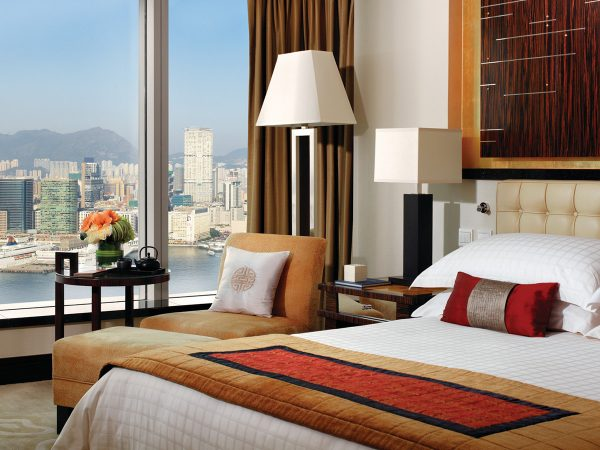 Four Seasons Hotel Hong Kong Premier Harbour View Room
