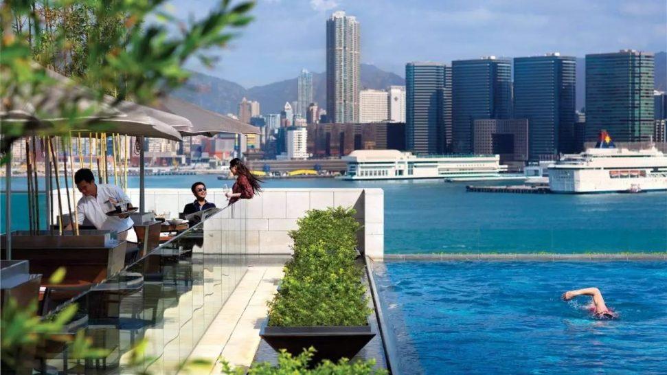 Four Seasons Hotel Hong Kong The Pool Terrace