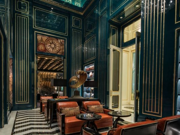 Four Seasons Hotel Jakarta Library