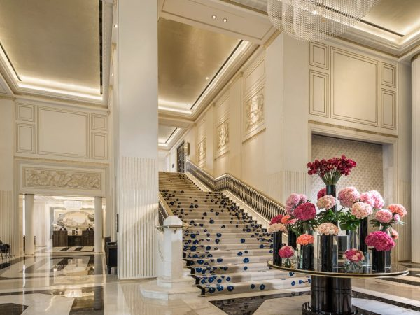Four Seasons Hotel Jakarta Lobby Area