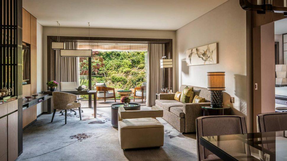 Four Seasons Hotel Kyoto One bedroom suite