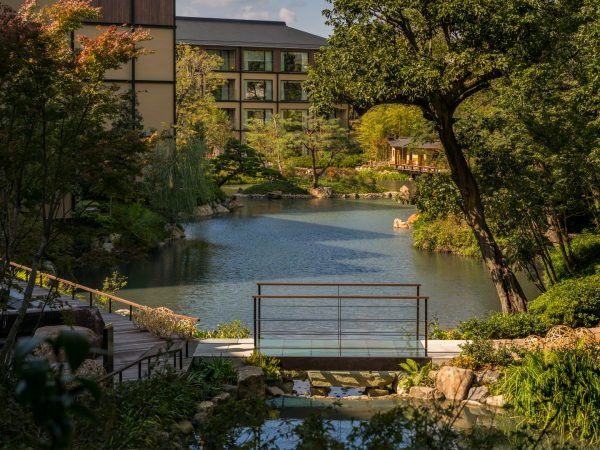 Four Seasons Hotel Kyoto Outside Area
