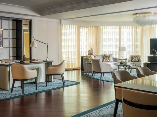 Four Seasons Hotel Macao Cotai Strip Ambassador Suite