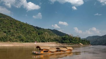 Four Seasons Resort Chiang Mai Mekong Kingdom Boat