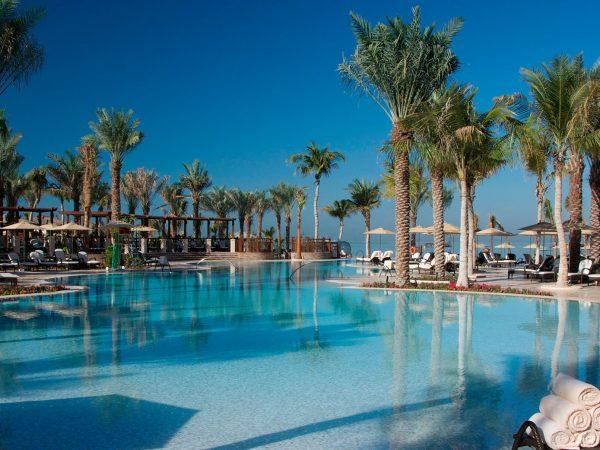 Four Seasons Resort Dubai Jumeirah Beach, Lagoon Pool