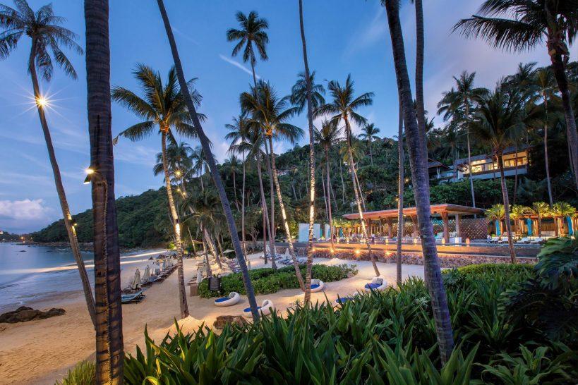 Four Seasons Resort Koh Samui Beach Sunset