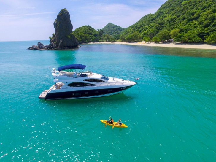 Four Seasons Resort Koh Samui Private Yacht