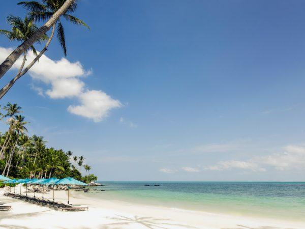 Four Seasons Resort Koh Samui Thailand Beach
