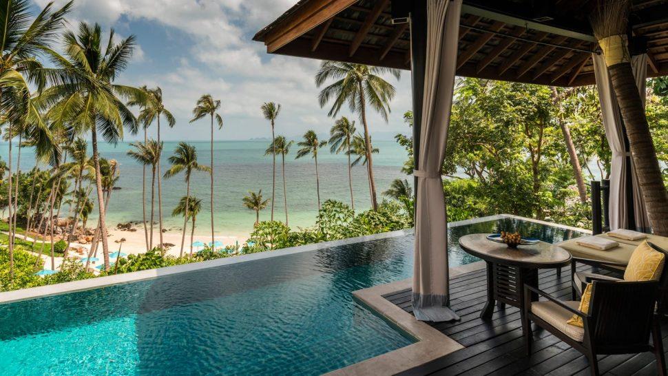 Four Seasons Resort Koh Samui Thailand Beachfront Pool Villa