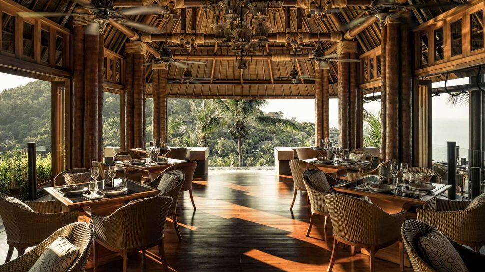 Four Seasons Resort Koh Samui Thailand Koh Thai Kitchen & Bar