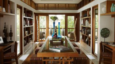 Four Seasons Resort Koh Samui Thailand Library