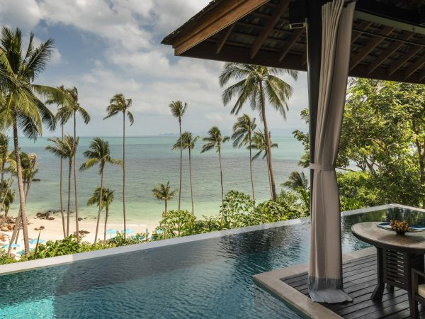 Four Seasons Resort Koh Samui Thailand Lobby Pool View
