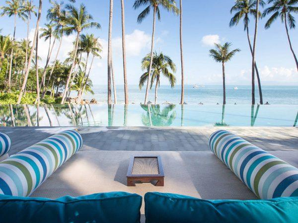 Four Seasons Resort Koh Samui Thailand Pool Sea View