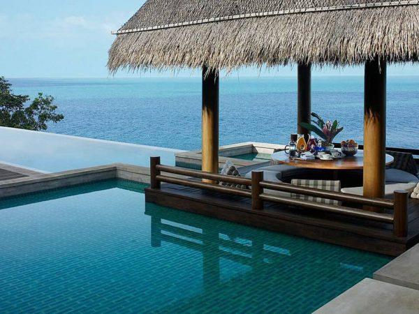 Four Seasons Resort Koh Samui Thailand Sea view