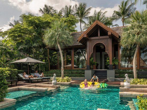 Four Seasons Resort Koh Samui Thailand Three Bedroom Family Residence Villa With Pool