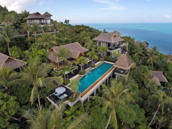Four Seasons Resort Koh Samui Thailand Top View