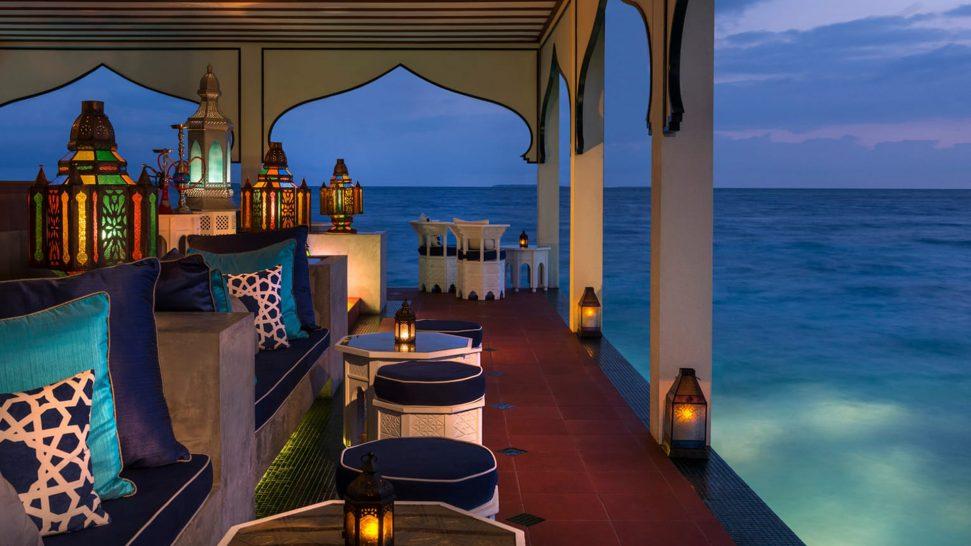 Four Seasons maldives private island at voavah Shisha Bar